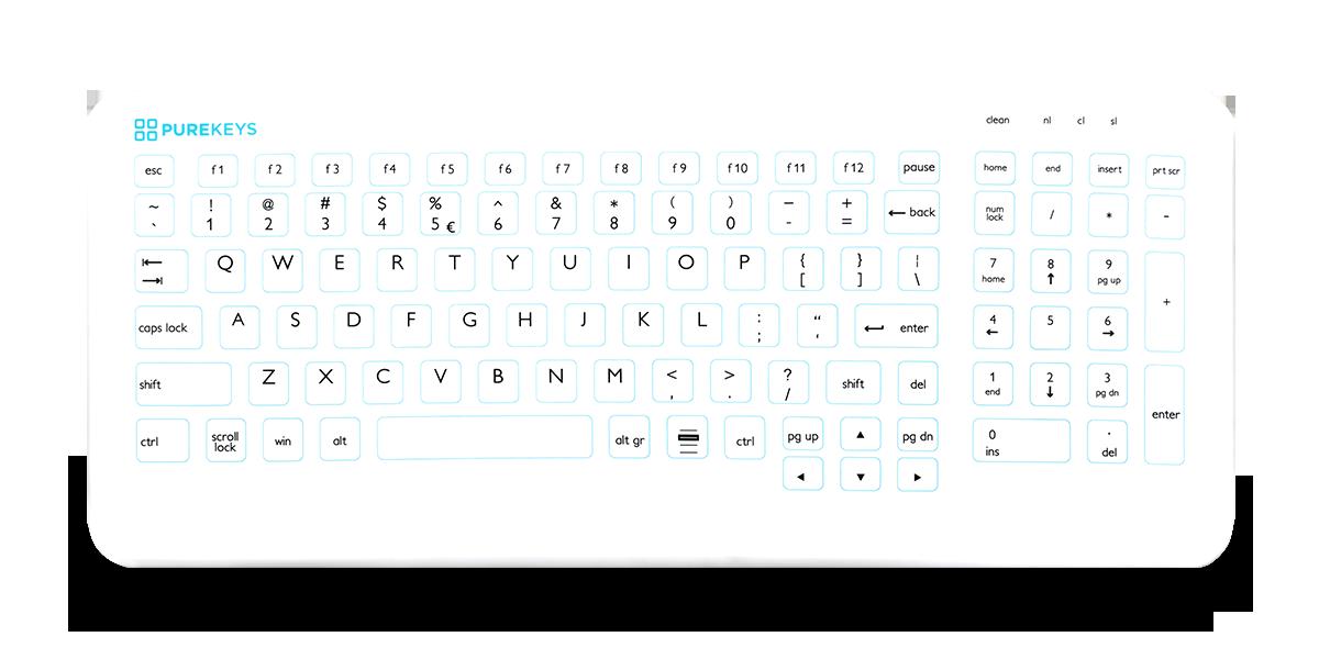 Purekeys Compact Keyboard