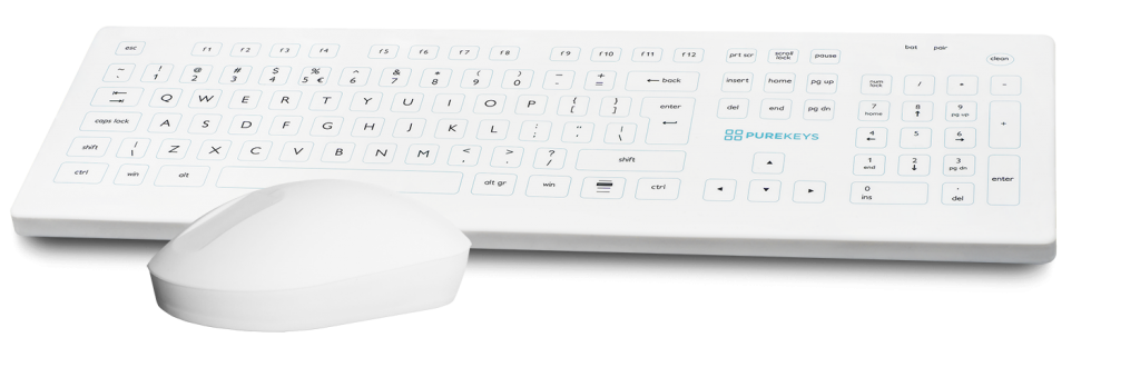 Purekeys Medical Keyboard and Mouse